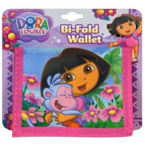 Dora the Explorer Bi-fold Wallet ~ Cute!