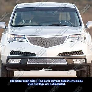 amazon com fits 2011 2013 acura mdx stainless steel mesh grille rh amazon com 2010 Acura RDX 2011 Acura TL