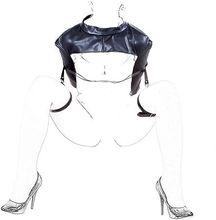 DNTK Juego De Esclavitud De Cuero SM Set, Camisa De Fuerza Sexual Y Piernas De Sujeción, Juguetes Sexuales Juegos De Esclavitud para Principiantes Parejas Mujeres Damas: Amazon.es: Hogar