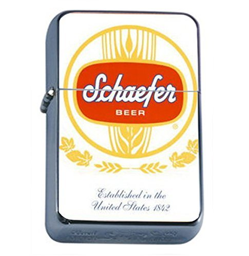 Schaefer Beer Vintage Ad Oil Lighter D-566 by Perfection In Style