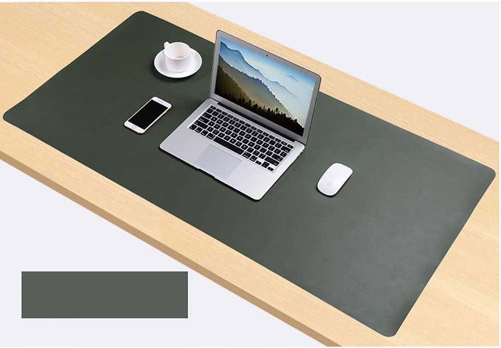 c 80x40cm 31x16inch AMYDREAMSTORE Double-Sided Office Desk Mat,pu Leather Waterproof Desk Mouse Pad,Desk Pad,Oversized Large Mouse Pads Writing Mat Desk Protector for Office Home Gaming