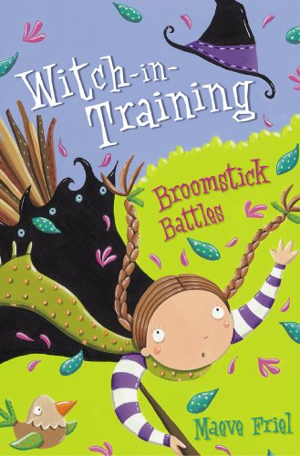 Broomstick Battles (Witch-in-Training, Book 5) -
