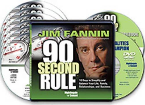 By Jim Fannin The 90 Second Rule [Audio CD]