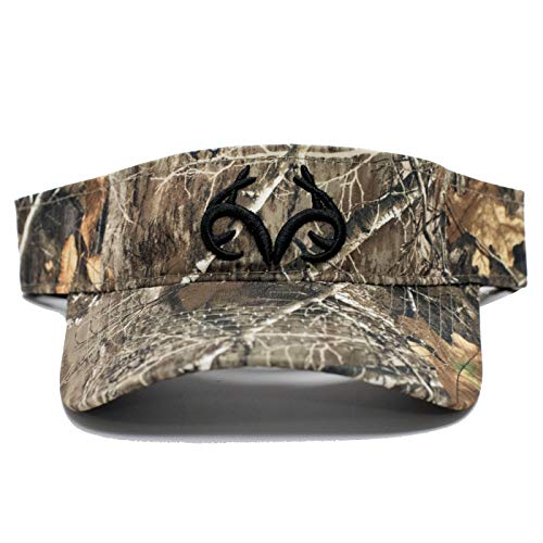 Adjustable Performance Visor - Realtree Edge Camo Performance Visor | Adjustable Velcro Backing