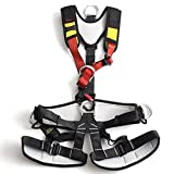 Xinda Full Body Safety Rock Mountain Climbing Rappelling Harness Tree Arborist S
