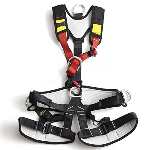 Xinda Full Body Safety Rock Mountain Climbing Rappelling Harness Tree Arborist S by Freelance Shop SportingGoods