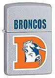 Zippo Lighter - NFL Throwback Denver Broncos Satin Chrome