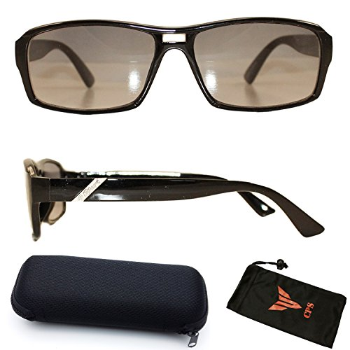 Women Fashion Designer All-In-One Sunglasses + Reading Glasses with FREE Hard Case (Strength: - One All Sunglasses In