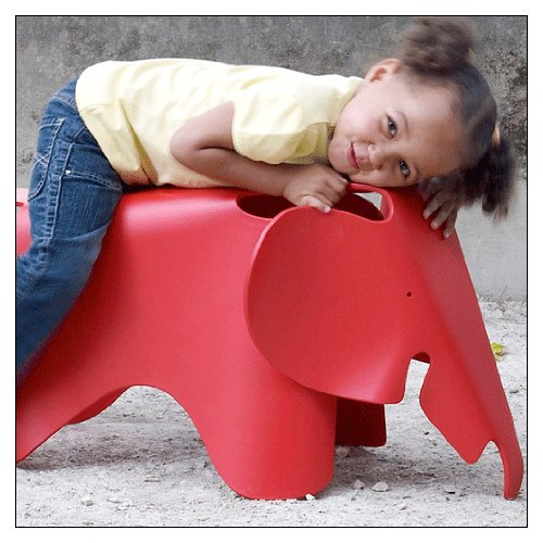 (Eames® Elephant by Vitra, Color = Classic)