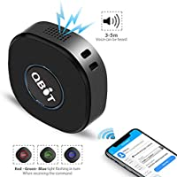 Lncoon Mini Localizador GPS con Aplicación Gratuita para Android iOS/Rastreo GPS en Tiempo Real/Geo-Cerca/Alarmas SOS/Conversación bidireccional, ...