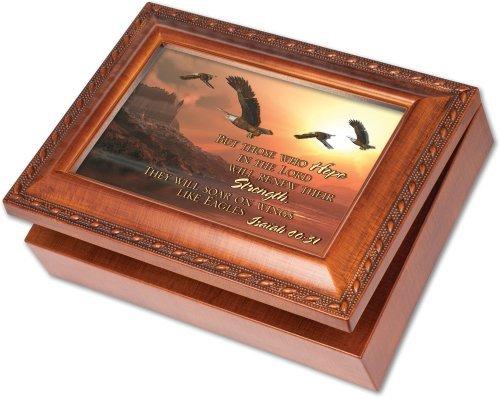 [定休日以外毎日出荷中] Cottage Garden Box But Those On Who Who 3D Woodgrain Music Box/ Jewelry Box Plays On Eagles Wings [並行輸入品] B01K1W0O5W, 家具インテリア館:8f217e65 --- arcego.dominiotemporario.com