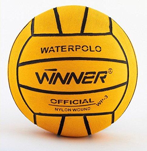Vincitore Water polo Ball. Taglia 3. Mini polo. Giallo Winner
