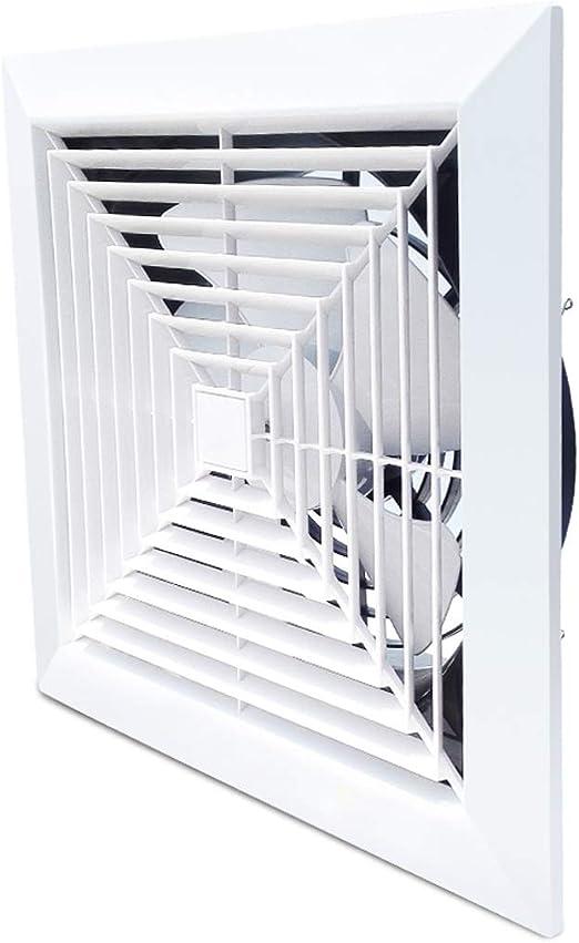 Ventilación Extractor Ventilador de extracción Ventiladores extractores montados en el techo Ventilador de ventilación de bajo ruido Ventilador doméstico for baño, 10 pulgadas for inodoro de cocina: Amazon.es: Hogar