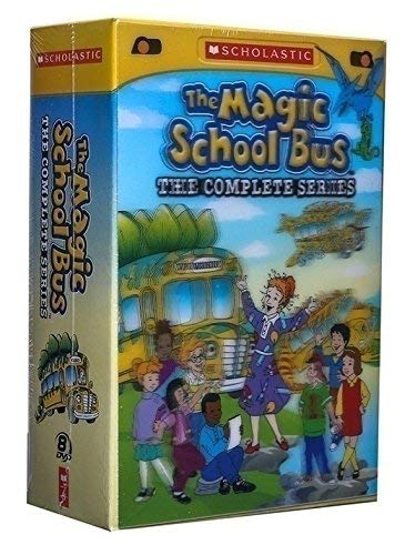 Magic School Bus Collection - Higoo The Magic School Bus: The Complete Series -8 DVD Box Set Kit