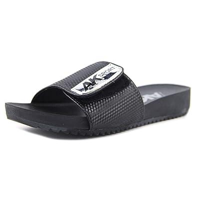 858615c610e Anne Klein Women s Quen Black Synthetic Sandal