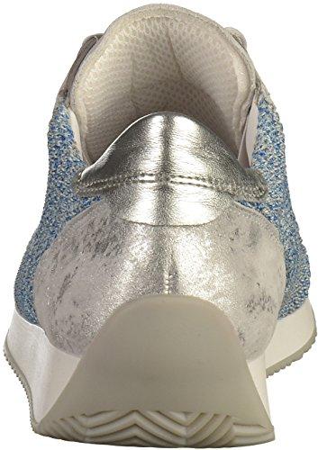Mesdames Ara 48 Gris Chaussure (aqua-multiple, Argent)