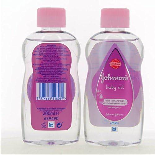 Johnsons baby Oil 200 ml (Pack de 6): Amazon.es: Salud y cuidado personal
