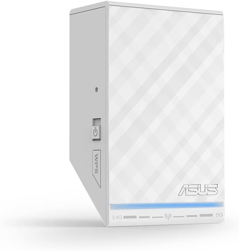 ASUS RP-N54 Dual-Band (2.4GHz, 5GHz) Wireless N600 Repeater/Access Point/Media Bridge with RJ45 10/100 Ethernet and Audio Ports