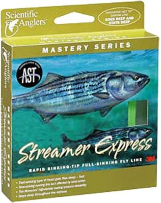 Scientific Anglers Mastery Streamer Express Clear Tip Fly Line - - Mastery Streamer