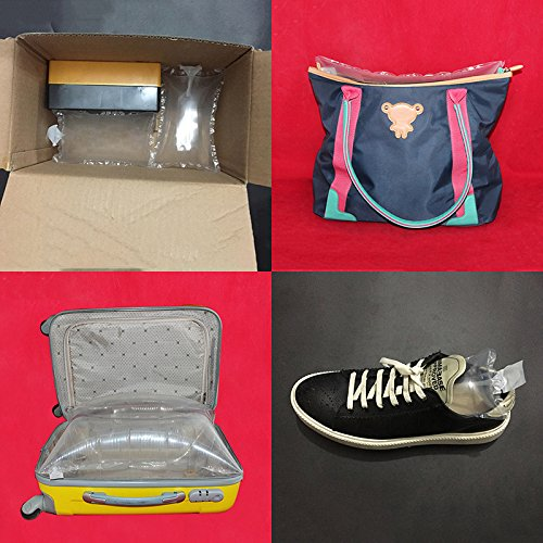 11.8 15.7 ZZ Lighting 100PCS Transparent Inflatable Dunnage Bag with Hand Inflator