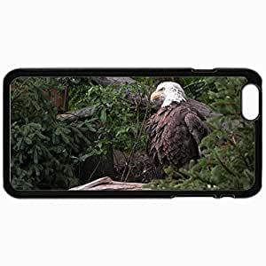Customized Cellphone Case Back Cover For iPhone 6, Protective Hardshell Case Personalized Birds Eagle 16149 Black