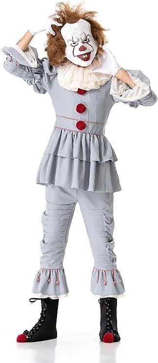 XSQR Halloween Payaso Devolviendo El Alma Cosplay Terror Femenino ...