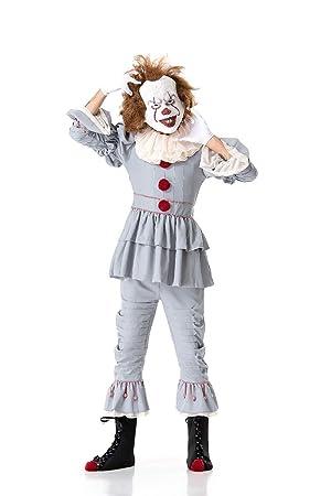 XSQR Halloween Payaso Devolviendo El Alma Cosplay Terror ...