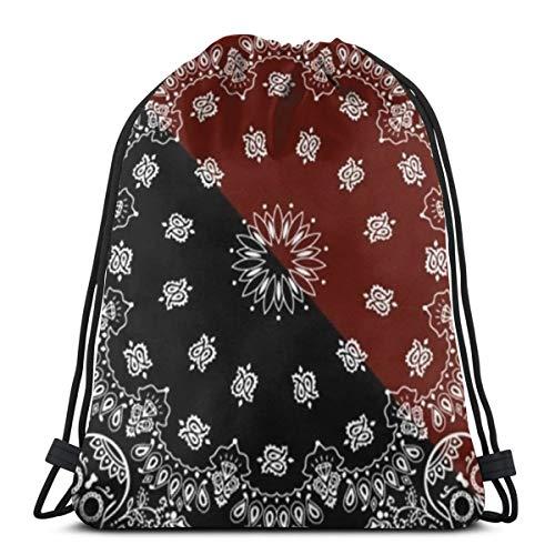 (Tatoo Pattern 3D Print Drawstring Backpack Rucksack Shoulder Bags Gym Bag For Adult 16.9