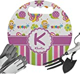 RNK Shops Butterflies & Stripes Gardening Knee Cushion (Personalized)