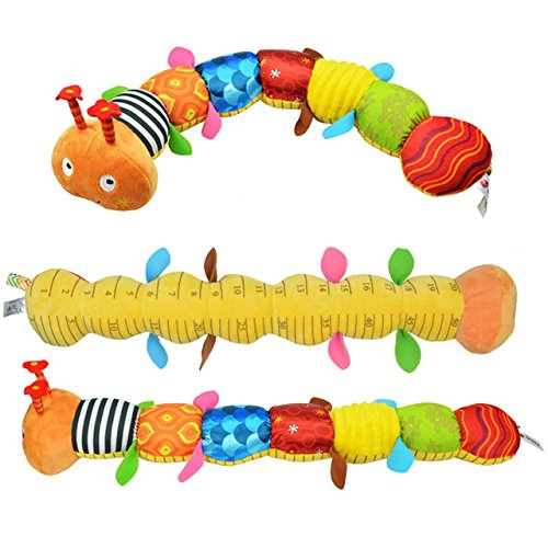 Pansupply 55 cm Baby toys musical stuff with ring bell cute cartoon animal plush creative doll