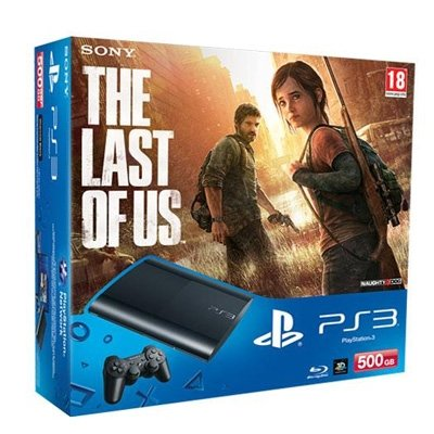PlayStation 3 – Consola 500 GB + The Last of Us
