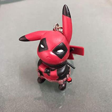 Anime Personaje-DUDDP Anime Pikachu Llavero Modelo de ...
