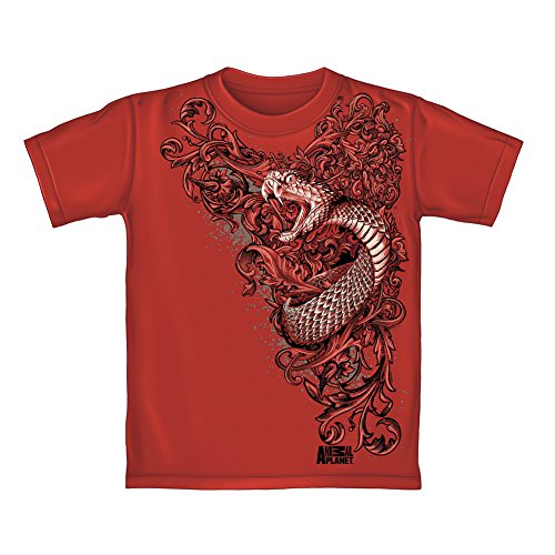 Animal Planet Snake Youth Tee Shirt (Large 12/14) (Animal Snake T-shirt)