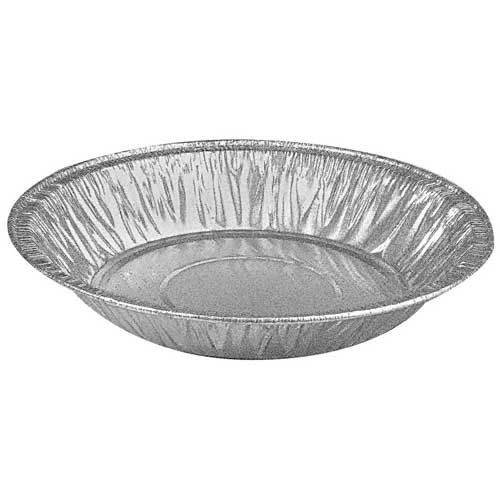 D and W Fine Pack Aluminum Shallow Pie Pan, 6 inch -- 1000 per case.