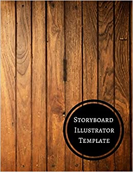 Storyboard Illustrator Template Journals For All 9781521111086