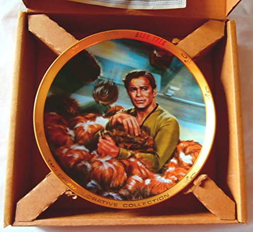 Plates Collectibles Collector - Star Trek The Trouble With Tribbles Collectible Plate