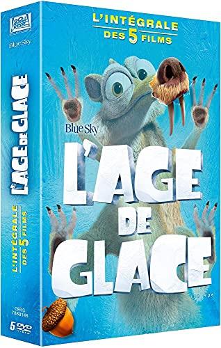 L'Àge de glace - Intégrale - 5 films [Francia] [DVD]