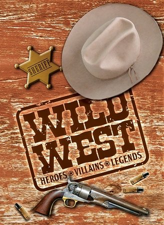 Wild West Playing Card Deck (Hero Decks Playing Cards)