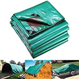 Yescom 30x40 FT Reinforced Poly Tarp Reversible 7 Mil Waterproof Tarpaulin UV Resistant Ground Sheet Tent Campimg Cover