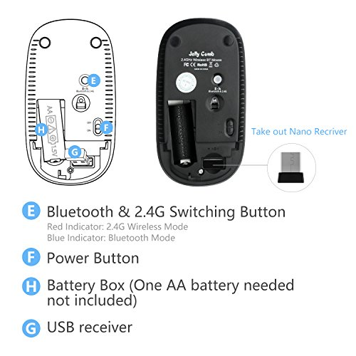 Wireless bluetooth mouse for laptop ☆ BEST VALUE ☆ Top Picks