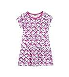 Hatley Little Girls' Tee Dress, Rollergators, 3 Years