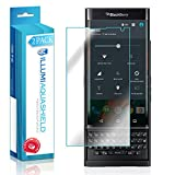 BlackBerry Priv Screen Protector (2-Pack), ILLUMI AquaShield Premium High Definition Ultra Clear / Invisible Bubble-Free UV Resistant Self-Healing Film w/ Lifetime Warranty