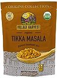Village Harvest Microwaveable Organic Tikka Masala Brown Basmati Rice 8.5 oz (Pack of 6)