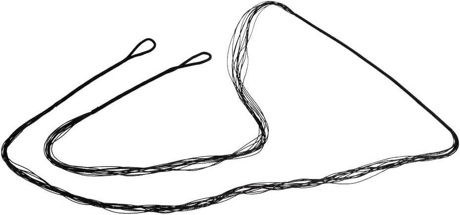 MagiDeal Accesorios de Deporte Cuerdas de Proa Negro para Recurvo Longbow Bow String