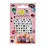 NPW-USA Cat Crazy Nail Art Stickers
