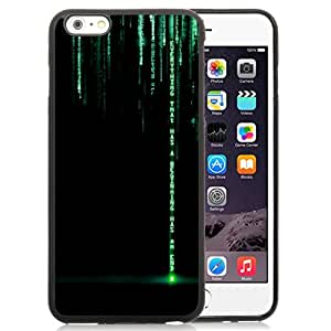 Fashionable And Unique Designed Cover Case For iPhone 6 Plus 5.5 Inch With Everything That Has A Beginning Matrix Text_Black Phone Case