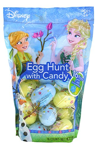 (Disney Frozen Princess Easter Eggs with Candy for Egg Hunts, 16)