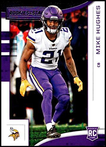 2018 Panini Rookies and Stars #154 Mike Hughes NM-MT RC Minnesota Vikings Official NFL Rookie Card (Panini Rookies Stars)