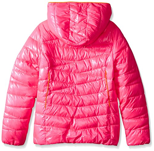 Bryte Big Puffer Girls' Down Coat Bubblegum Hooded Spyder Timeless 01qdw0v