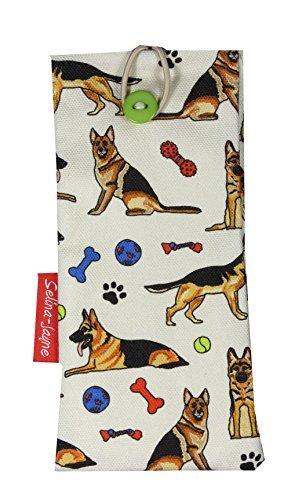 Selina-Jayne German Shepherd Dog Limited Edition Designer Soft Fabric Glasses - Eyeglasses German Designer
